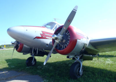 1961 Beech G18S For Sale viewed from the front left of plane